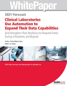 White-Paper-2021-Forecast-Clinical-Laboratories-Use-Automation-to-Expand-Data-Capabilities-Strengthen-Response_Page_01